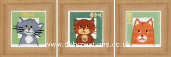 Cats  Cross Stitch Kit